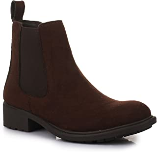 Bruno Manetti Women Brown Suede Leather Boots