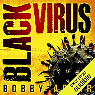 Black Virus audiobook cover art