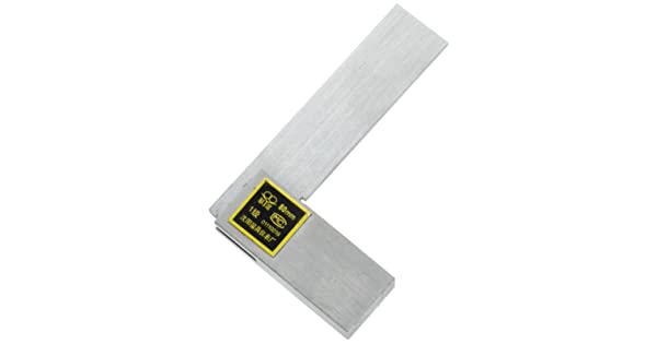 80mm x 50mm Dragonmarts Co Ltd Uxcell Woodwork Angle Ruler Scale Tool Beveled Edge Square // Uxcell a13062900ux0338