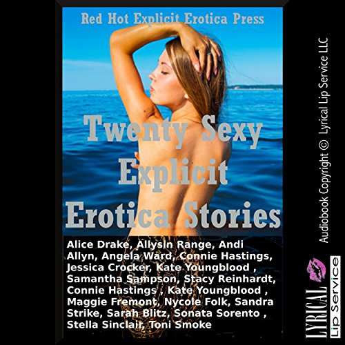 Twenty Sexy Explicit Erotica Stories audiobook cover art