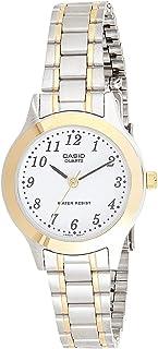 ساعة كاسيو للنساء LTP-1128G-7BRDF - أنالوج، رسمية