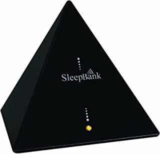 Sleep Frequency Machine by SleepBank - Patented Technology Chip (SFT) - Fall Asleep Faster - Black