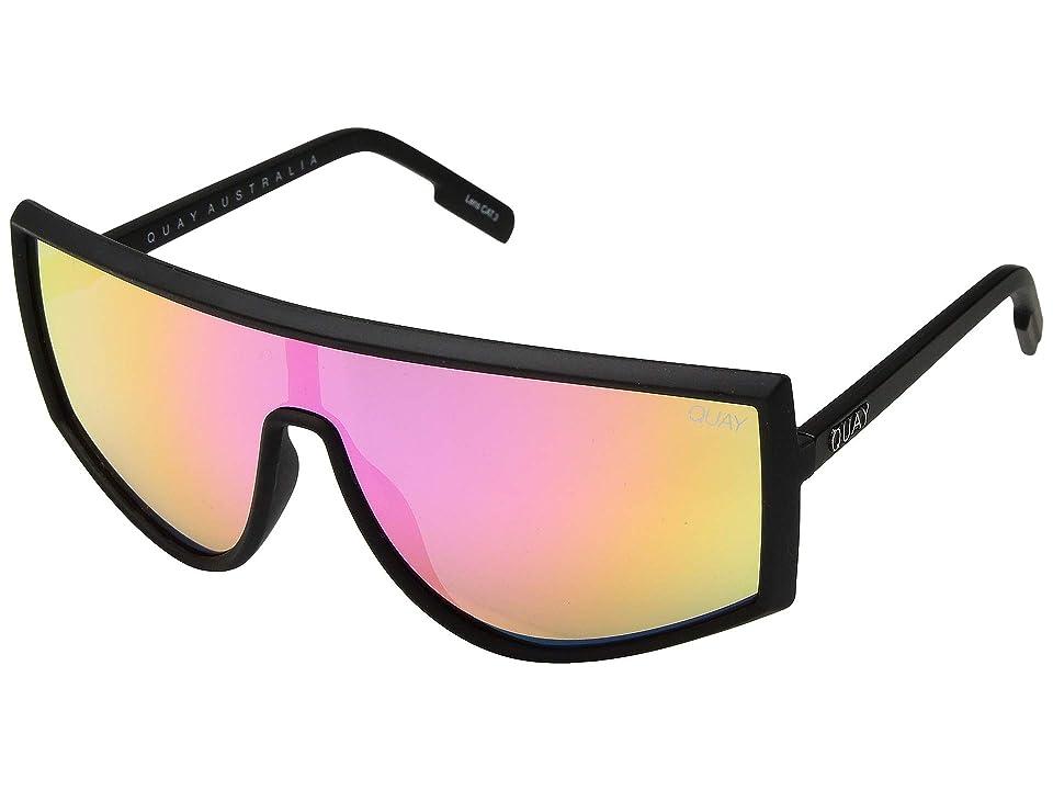 QUAY AUSTRALIA Cosmic (Black/Purple/Pink) Fashion Sunglasses