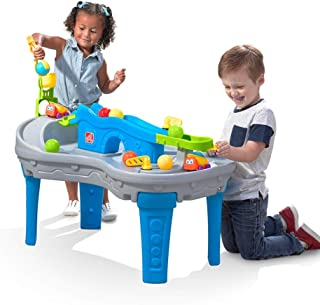 Step2 Ball Buddies Truckin' & Rollin' Play Table | STEM & Ball Toy for Toddlers | Kids Play Table with 12 Accessory Toys I...