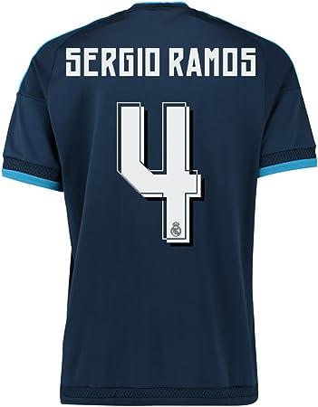 adidas Sergio Ramos #4 Il Real Madrid Terza Maglia 2015-2016 (M ...