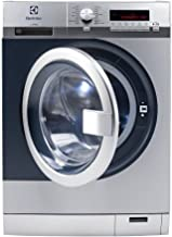 Electrolux Front Load Washer We170P Waschmaschine Freistehend Frontlader Grau 8 Kg 1400 Rpm A - Waschmaschinen Freistehend, Frontlader, Grau, Knöpfe, Drehregler, Links, Lcd