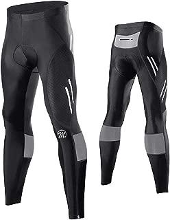 FEIXIANG Men's Cycling Bike Pants, 4D Padded Long Bicycle Tights MTB Leggings Cycle Riding Wear