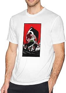 One Piece Zoro Vs Kuma Mens Tee Funny Short Sleeve T-Shirt White