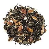Aromas de Té - Té Negro Perla del Desierto - Fresco y Sabroso - Con Té Negro (55%), Té Verde (30%), Cáscara de Naranja, Pétalos de Rosa, Céndula y Alazor - 100 gr