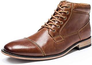 WMZQW Chaussures Hommes D'affaires Classique Tuxedo Chaussures Mode Cuir Formelles Oxford Robe Chaussures Gris Brown 40-49