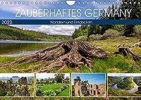 Zauberhaftes Germany (Wandkalender 2022 DIN A4 quer): Landschaft und Geschichte Germany (Monatskalender, 14 Seiten )