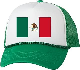 Mexico Trucker Hat Mexican Flag Baseball Cap Retro Vintage