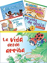 Teacher Created Materials - Classroom Library Collections: Literary Text Readers (Spanish) Set 3 - 10 Book Set - Grade 1 - Guided Reading Level A - I