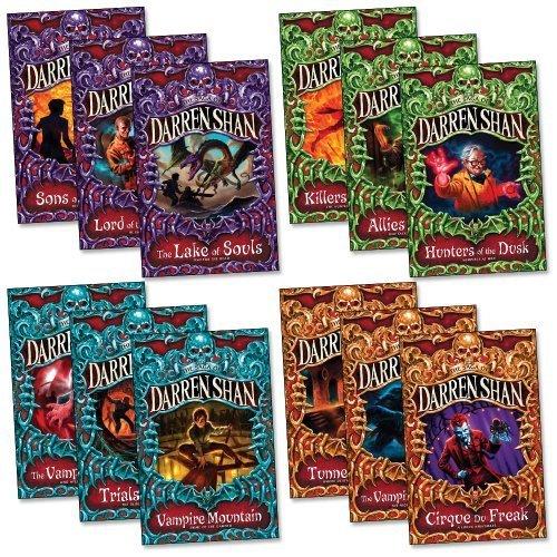 The Saga Of Darren Shan Set, 12 Books Collection Pack