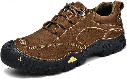TBLQ Non-Slip Wanderschuhe Sportschuhe Leichte Low Outdoor-Walking-Schuhe Zu Helfen,braun-42