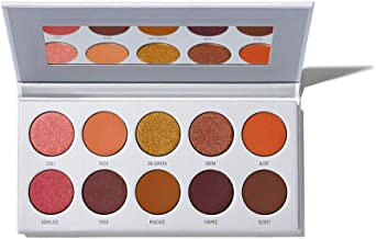 Best Morphe x Jaclyn Hill Eyeshadow Palette - Ring The Alarm - 10 Dangerously Hot & Fiery Eyeshadows - A Palette of Matte and Shimmering Eyeshadows Review