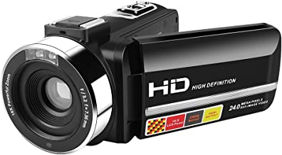 Digital Camera,Dotca RV04 Video Camcorder with 16X Zoom Digital/3.0 Inch HD LCD Screen Recorder Support Night Vision Recording/270 Degree Rotation/SD Card Slot/Wireless Control