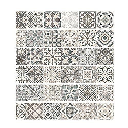 Mogzank 6 Unids/Set CalcomaníAs de Escalera 3D para Pared, Azulejo, Mural, Pegatinas de Escalera, Mosaico, Pegatina de Escalera ExtraíBle, Vinilo, DecoracióN del Hogar DIY