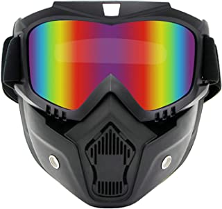 Aooaz Pc Personality Retro Mask Cross Country Goggles Motorcycle Helmet Goggles Riding Mask