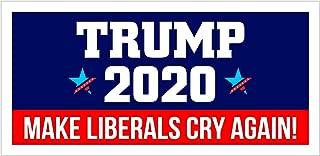 StickerPirate Car Magnet - Trump 2020 Make Liberals Cry Again Trm343