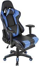 Gaming Stoel, Bureaustoel Racing Draaistoel, Verstelbare Armleuningen Ergonomisch Ontwerp, met Lumbale ondersteuning en Ho...