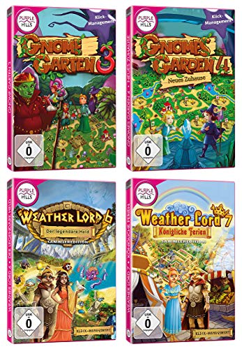 Yellow Valley Gnome`s Garden und Weather Lord-Bundle
