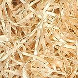 Lana de madera ideal para rellenar cestas y paquetes de regalos, con material de embalajerespetuoso con el medio ambiente 200 g