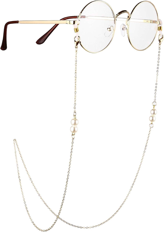 Beaded Eyeglass Chains Sunglasses Retainer New mail order Award-winning store Chain Eyeglas Eyewear