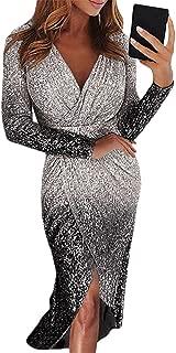 Gray OOFAY Abbigliamento da Donna Lungo sopra Il Ginocchio
