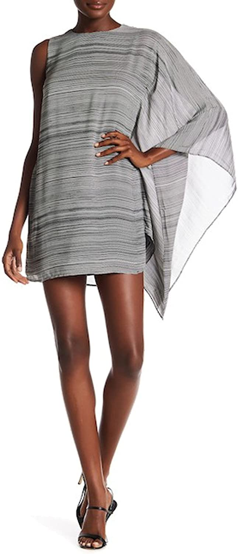 Ali & Jay Drape Sleeve Mini Dress for Women in Black, Large
