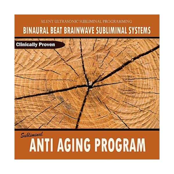 Anti aging products Subliminal Anti Aging Program – Binaural Beat Brainwave Subliminal Systems