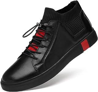 [麗人島株式會] 手作りの通気性のメンズオックスフォードシューズ のドレスシューズ男性フラットファッション本革カジュアル男性の靴