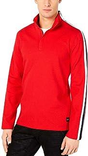 Men's Striped Ribbed Pullover