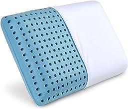Sampri Cool Gel Pillows Memory Foam Pillows Cooling Gel Pillows Neck Support Hypoallergenic Orthopedic Ergonomic Pillow for Side Back Stomach Sleepers Pillows Neck Pain and Neck Pain