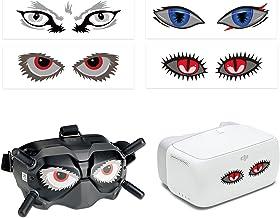 O'woda Stickers voor DJI FPV Goggles V2, PVC-stickers voor brillen V2 en VR, waterdicht, krasbestendig, decoratie patroon ...