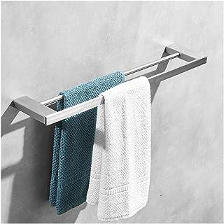 Porte-serviettes de salle de bain, étagère de rangement for organisateur de douche à base épaissie fixée au mur en acier i...