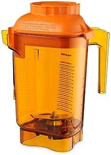 Vitamix 58990 Orange Advance 48 Oz Tritan Container with Blade and Lid