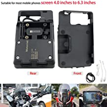 Motoparty R1200GS Mobile Phone GPS Navigation Bracket Accessories for BMW R1200 GS LC ADV 1200 1200GS USB Charger Holder Kit