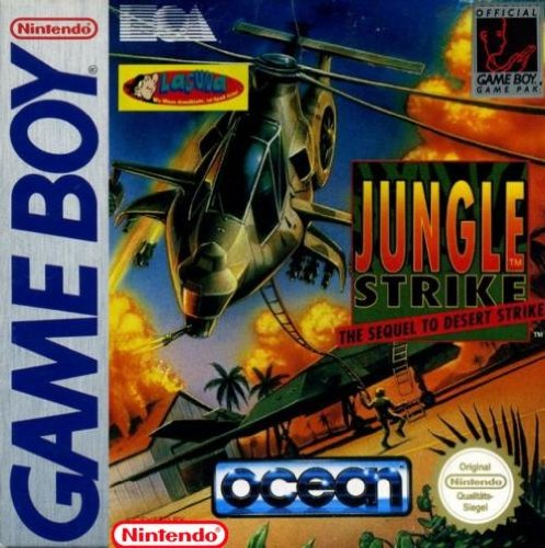 Jungle strike the sequel to desert strike - Game Boy - PAL