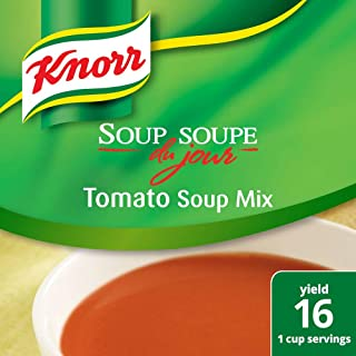 Knorr Professional Soup du Jour Tomato Soup Mix Vegetarian, 0g Trans Fat per Serving, Just Add Water, 13.6 oz, Pack of 4