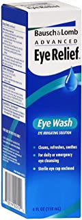Bausch + Lomb Advanced Eye Relief Wash - 4 oz, Pack of 5