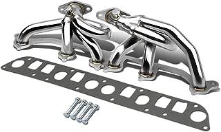 For Jeep Wrangler 6-2 Design 2-PC Stainless Steel Exhaust Header Kit - TJ 4.0L I6