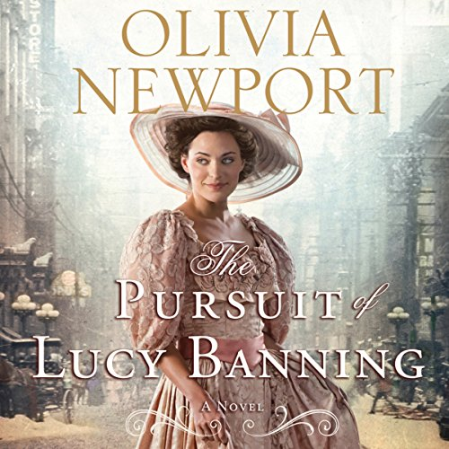 The Pursuit of Lucy Banning audiobook cover art