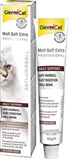 Gimcat Malt Soft Paste Extra + Extra Dietary Fibre Supports the Natural Passing of Swallowed Hair 100 G.