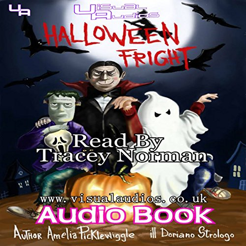 Halloween Fright audiobook cover art