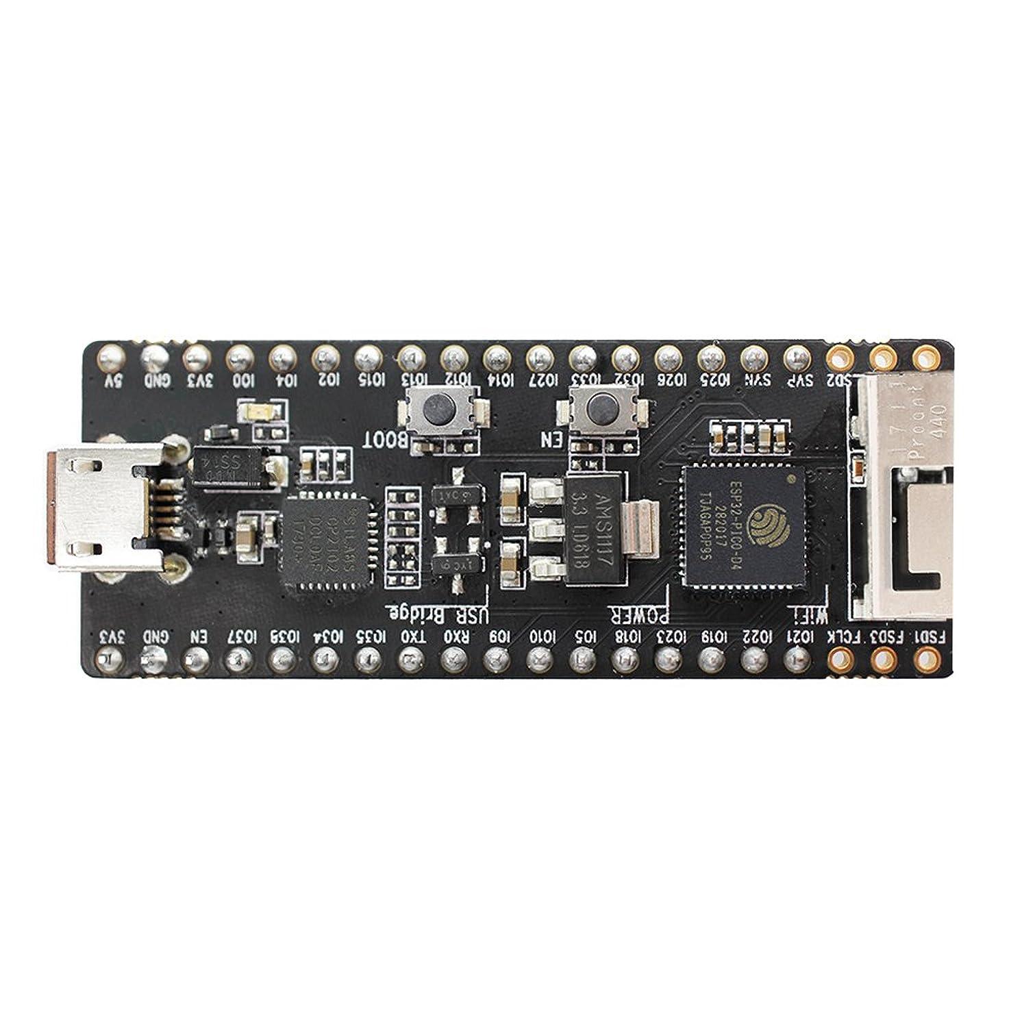 ESP32-PICO-KIT V4 Mini Development Board ESP32, WiFi Bluetooth ESP32-PICO-D4 40MHz Crystal USB-UART
