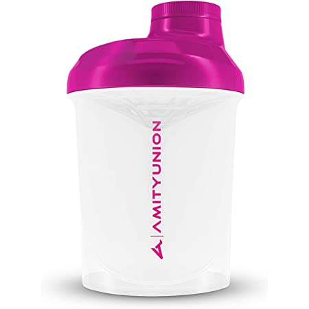 Frauen Protein Shaker 800 Ml Pink Deluxe ORIGINAL AMITYUNION  Eiweiß Shaker