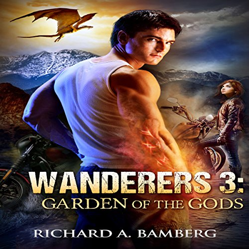 Wanderers 3: Garden of the Gods audiobook cover art