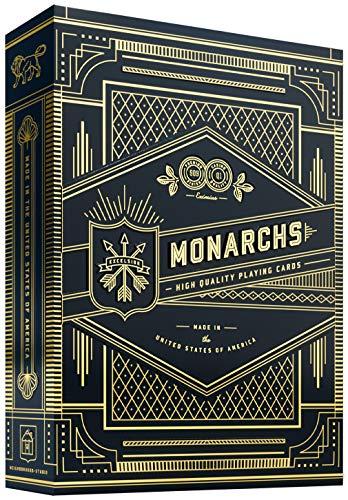 Theory Monarch - Jeu de Cartes (Bleu).