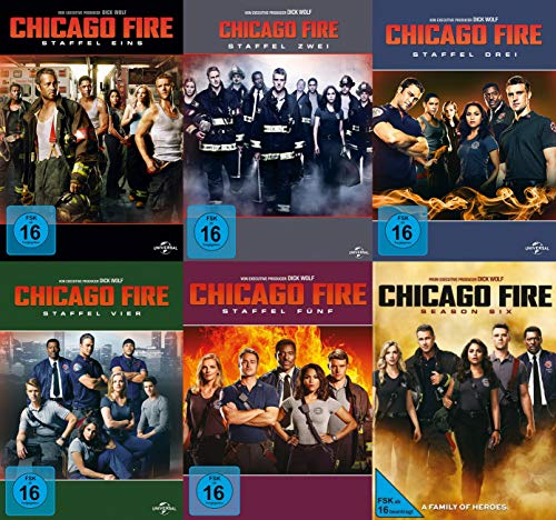 Chicago Fire - Staffel 1-6 (36 DVDs)